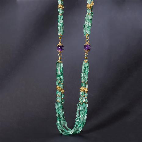 Apatite & Amethyst Connoisseurs Necklace