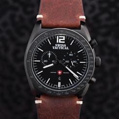 Swiss Tactical Midnight Chronograph