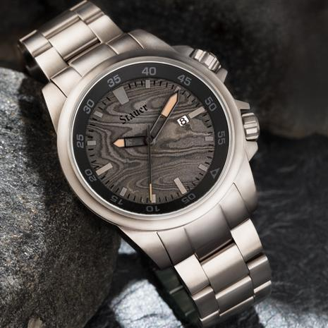 Men's Damascus Steel Watch