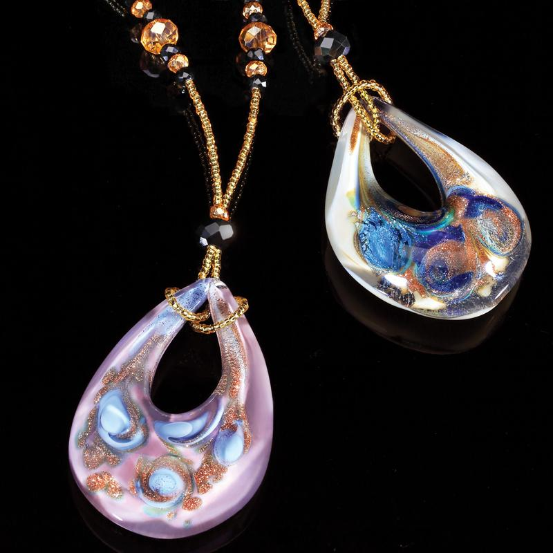 Murano Fresco Necklaces (Set of 2)