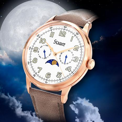 Men's Moon Phase Watch