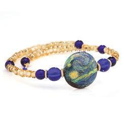 Starry Night Murano Bracelet