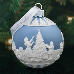 Wedgwood Dressing the Christmas Tree Ornament