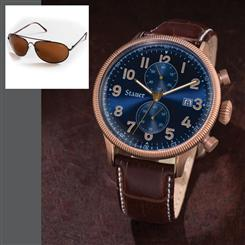 Gallivant Chronograph & FREE Black Flyboy Sunglasses