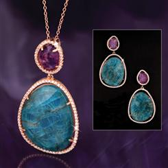 Apatite & Amethyst Rarity Collection