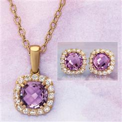 14K YG Vittoria Amethyst Collection