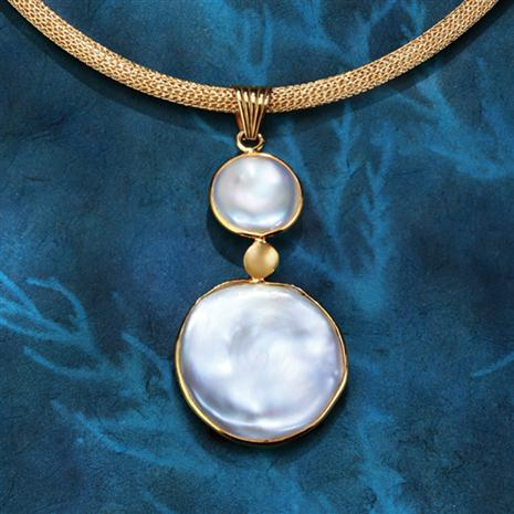 Mother-of-Pearl Lunar Pendant
