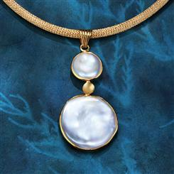 Mother-of-Pearl Lunar & Chain