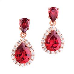 Drop Red Gorgeous Earrings