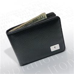 Prayer Bi-Fold Leather Wallet