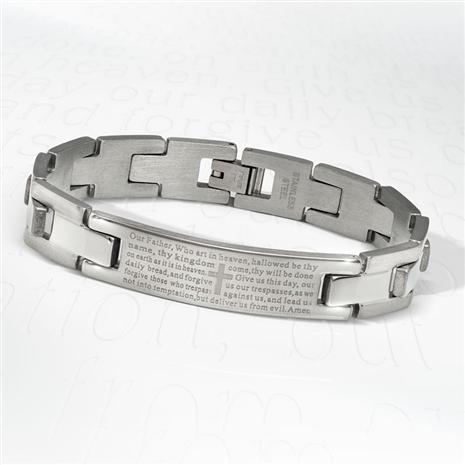 Man's Prayer Bracelet