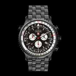 Swiss Military Chronograph - Black/Black