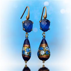 Murano Adriatic Earrings