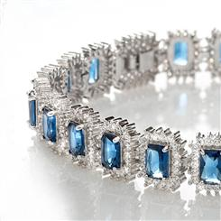 Royal Blue DiamondAura Bracelet