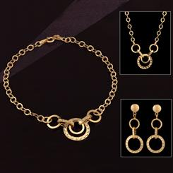 14K Italian Gold Cerchio Collection