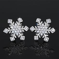 Snowflake Romance Earrings