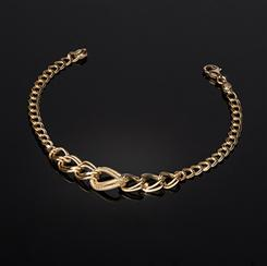 Ultimate Indulgence Gold-finished Sterling Silver Bracelet