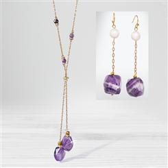 Amethyst & Pearl Round Up Collection