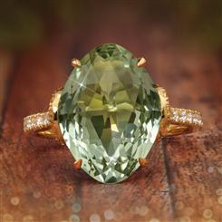 Green Goddess Ring