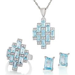Blue Topaz Skyscraper Collection