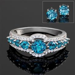 London Blue Topaz Night Sky Collection