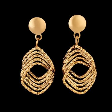 14K Italian Gold Amore Eterno Earrings
