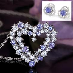 Tanzanite In Love Collection