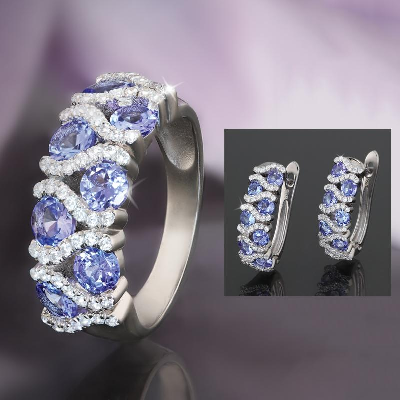 Tanzanite Hugs Collection