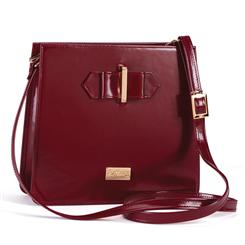 Brunello Specchio Leather Cross body Bag