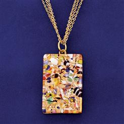 Il Bacio Murano Pendant and Chain