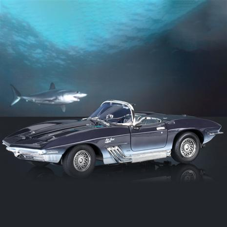1961 Corvette Mako Shark Concept Car (Dark Blue)