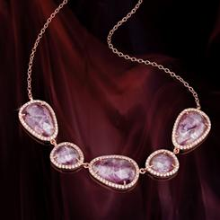 Lilac Frost Necklace
