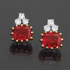 Scienza Ruby Romance Earrings