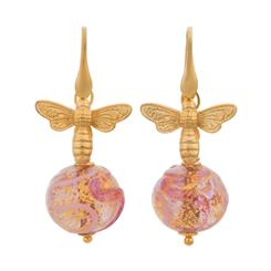 Fascino Murano Rosa Earrings
