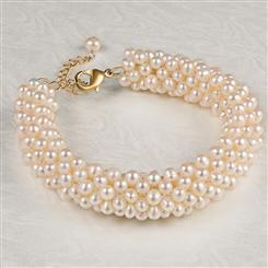 Night at the Theater Pearl Bracelet