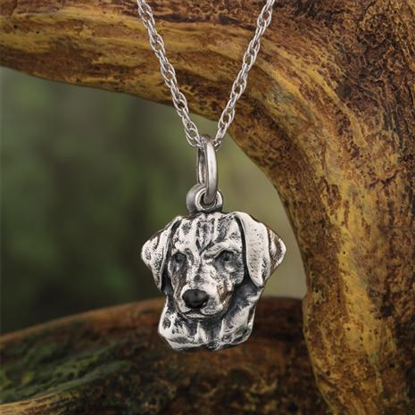 Best Friends Labrador Retriever Pendant