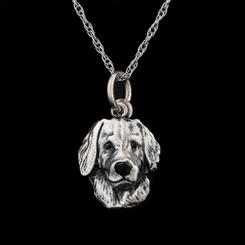 Best Friends Golden Retriever Pendant