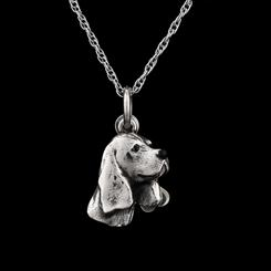 Best Friends Beagle Pendant