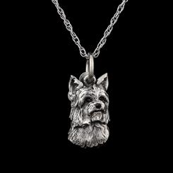 Best Friends Yorkshire Terrier Pendant