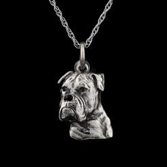 Best Friends Boxer Pendant