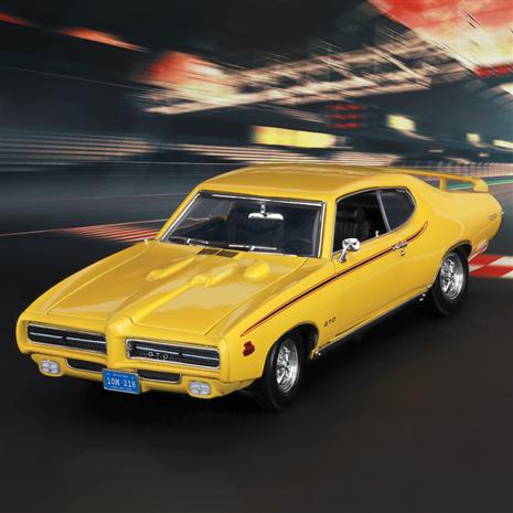 1969 Pontiac GTO Judge (Yellow)