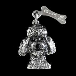 Best Friends Poodle Pendant