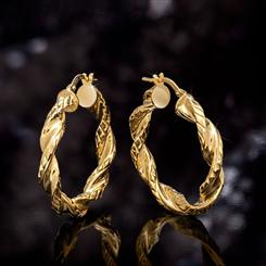 Italian Made Torcersi Earrings
