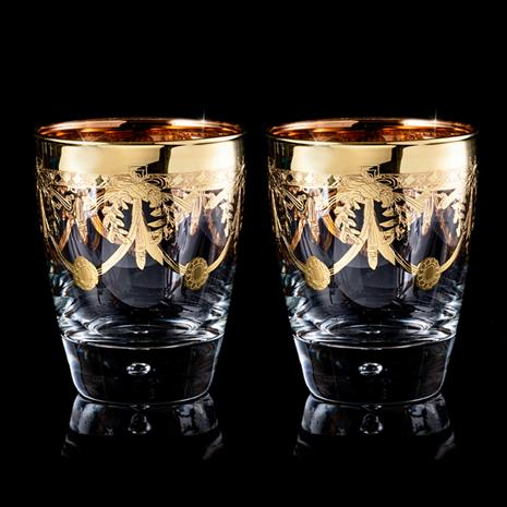 The Allegro Double Old-Fashioned Glasses Set of 2