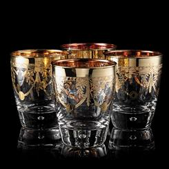 The Allegro Double Old-Fashioned Glasses Set of 4