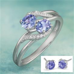 Tanzanite Infinity Collection