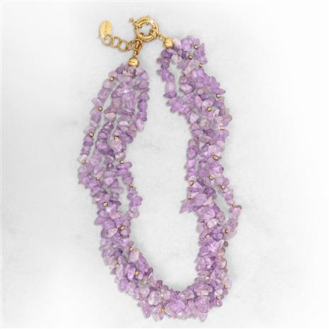 Amethyst Breeze Necklace