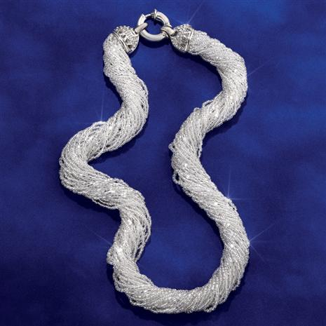 Murano Frost Necklace