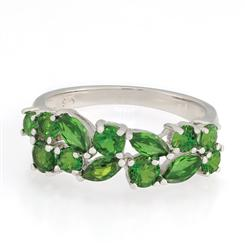 Siberian Imperial Diopside Ring