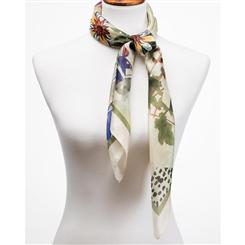Floreale Italian Scarf with FREE Venezia Murano Watch